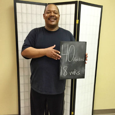 Gary has lost 40 pounds on the Horizons Weight Loss program in Dayton, Ohio