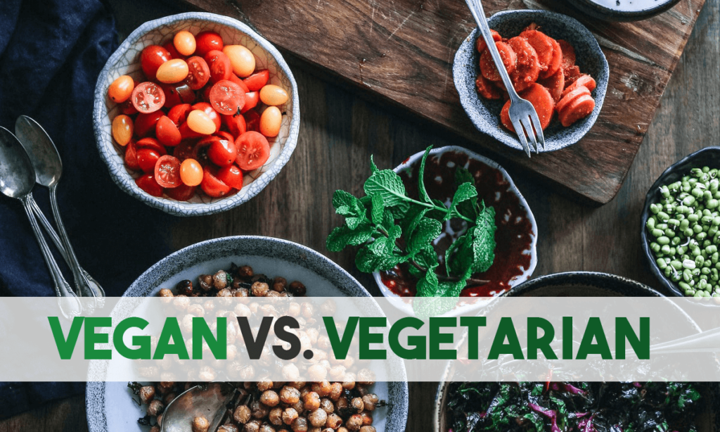 What's the difference between Vegan and Vegetarian?